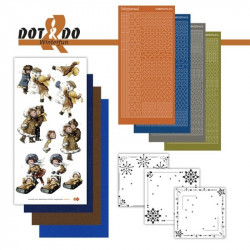 Dot and do 023 - Kit Carte 3D - Joie de l'hiver