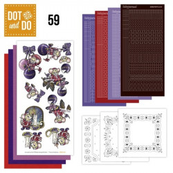 Dot and do 059 - kit Carte 3D - Souris à Noël