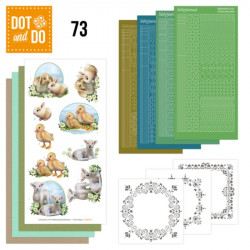 Dot and do 073 - kit Carte 3D - Bébés animaux