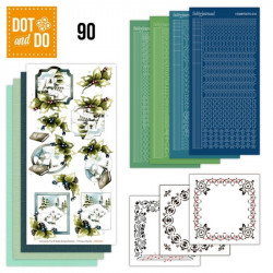 Dot and do 090 - kit Carte 3D - Paysages enneigés