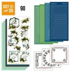 Dot and do 090 - kit Carte 3D - Paysages enneigés