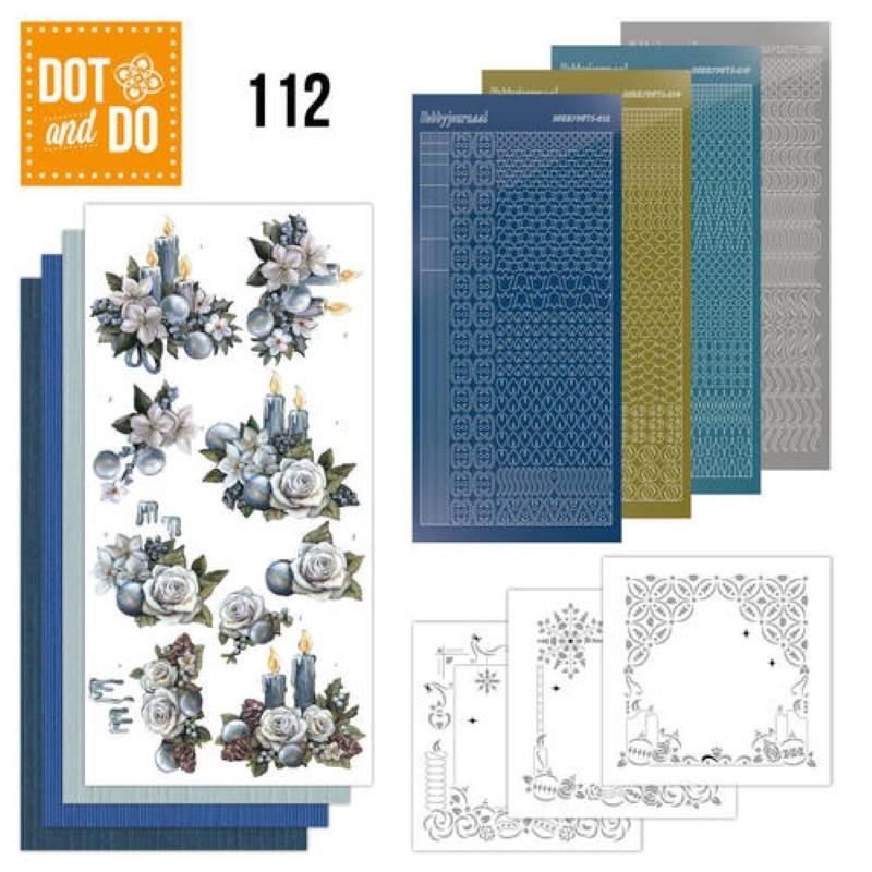 Dot and do 112 - kit Carte 3D - Feeling of Christmas