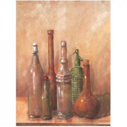 Image pour tableaux 3d 0707079 - 24X30 - 6 Bouteilles