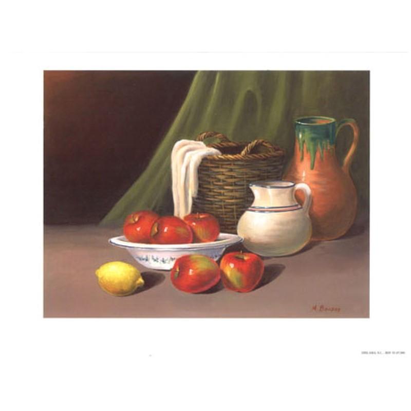 Image pour tableaux 3D 9107090 - 24X30 - Coupe avec Pomme - Aux Bleuets Loisirs créatifs à Reims