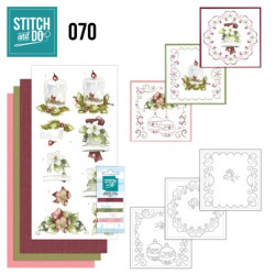 Stitch and do 70 - kit Carte 3D broderie - Déco de Noël