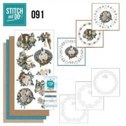 Stitch and do 91 - kit Carte 3D broderie - Christmas wishes