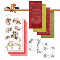 Dot and Do 027 - Kit Carterie 3D - Roses