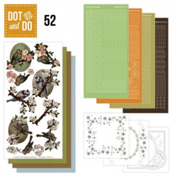 Dot and Do 052 - Kit Carterie 3D - Oiseaux