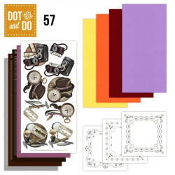 Dot and do 057 - kit Carte 3D - Affaires d'homme