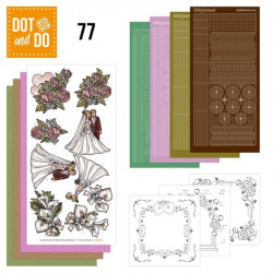 Dot and Do 077 - Kit Carterie 3D - Mariage