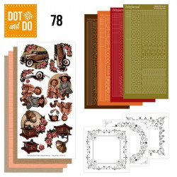 Dot and Do 078 - Kit Carterie 3D - Vintage