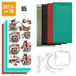 Dot and Do 085 - Kit Carterie 3D - Coccinelles