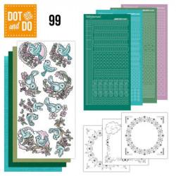 Dot and Do 099 - Kit Carterie 3D - Oiseaux printemps