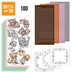 Dot and Do 100 - Kit Carterie 3D - Chatons