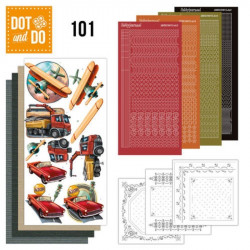 Dot and Do 101 - Kit Carterie 3D - Vintage Véhicules
