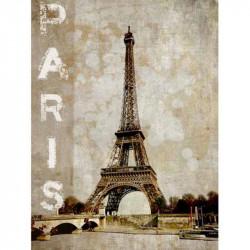 Image pour tableau 3D - Paris -  format 30x40 cm