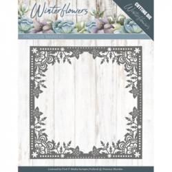 Die - precious marieke - Winter Flowers - Cadre fleurs