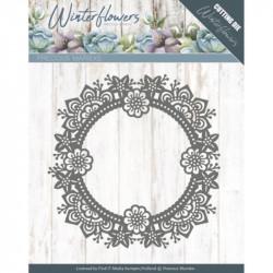 Die - precious marieke - Winter Flowers - Cercle en fleurs