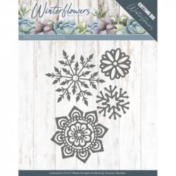 Die - precious marieke - Winter Flowers - Fleurs et flocons