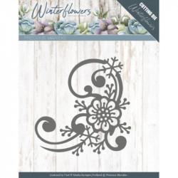 Die - precious marieke - Winter Flowers - Coins Fleurs et flocons