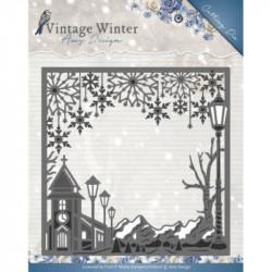 Die - Amy Design - Cadre Village hiver 13.1 x 13.1 cm