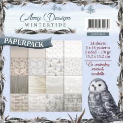 Bloc de papier - Amy Design - Wintertide 15.2 x 15.2