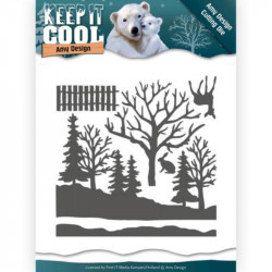 Die - Amy Design - Keep it Cool - Forêt en hiver
