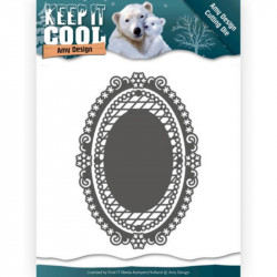 Die - Amy Design - Keep it Cool - Cadres ovales 8 x 11.5 cm