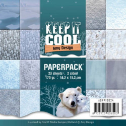 Bloc de papier - Amy Design - Keep It Cool 15.2 x 15.2