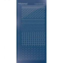 Stickers Hobbydots série 19 Miroir Bleu