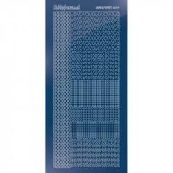 Stickers Hobbydots série 04 Miroir Bleu