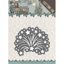 Die - Amy Design - Christmas Wishes - Feu d'artifice 4.8x5.8 cm