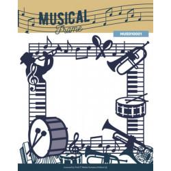 Die - Cadre Musical 14.5 x 14 cm