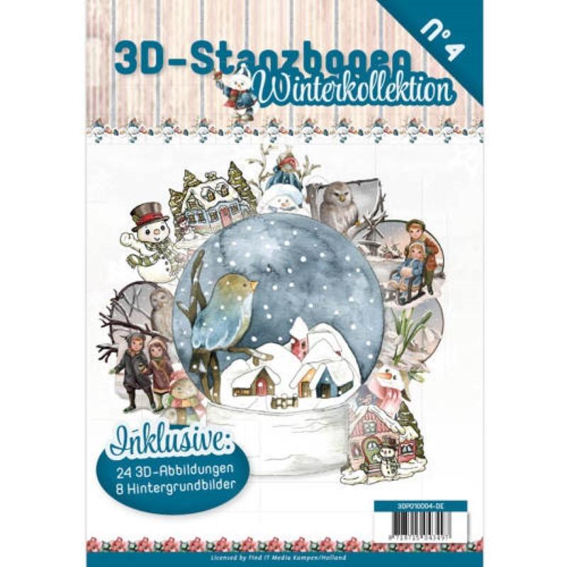 Carte 3d Livre A4 Predecoupe Noel 24 Images Papiers
