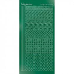 Stickers Hobbydots série 19 Miroir Vert