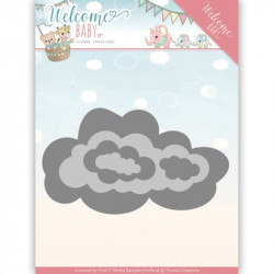Dies - yvonne creations - Welcome Baby - Nuage