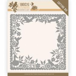 Die - Jeaninnes art - Birds and Flowers - Cadre