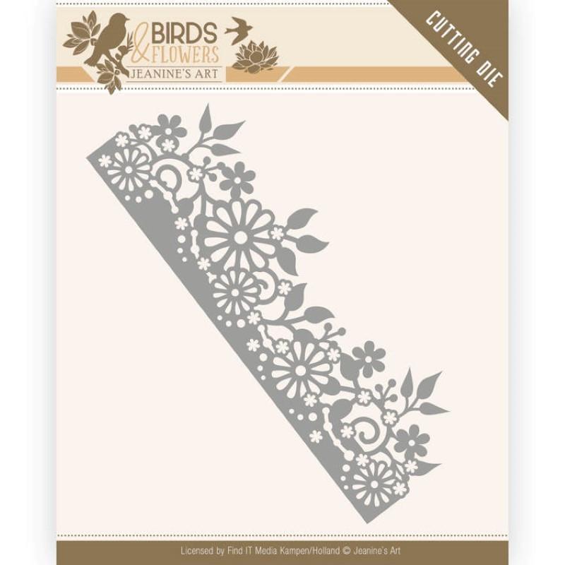Die - Jeaninnes art - Birds and Flowers - Bordure