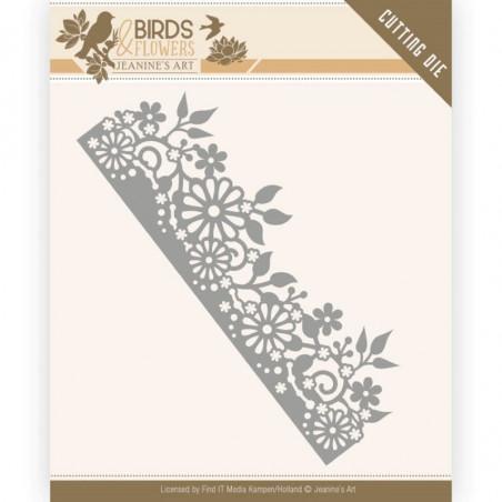 Die - Jeaninnes art - JAD10058 - Birds and Flowers - Bordure