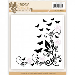 Cut & Emboss - Jeaninnes art - Birds and Flowers