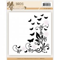 Cut & Emboss - Jeaninnes art - Birds and Flowers