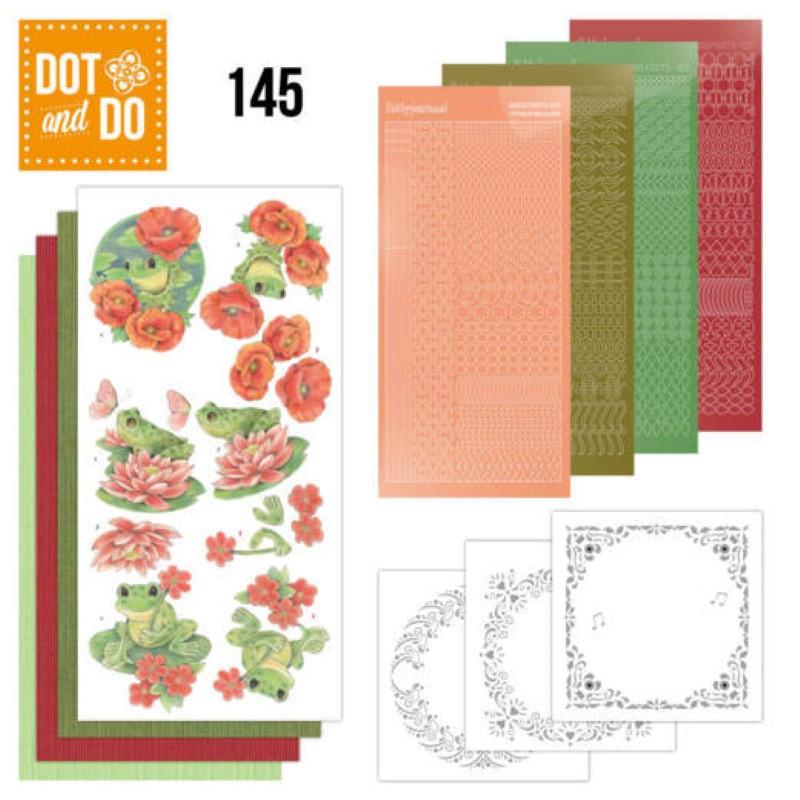 Dot and do 145 - kit Carte 3D - Grenouilles