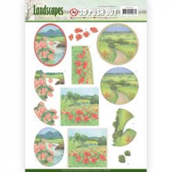 Carte 3D prédéc. - Jeanine's Art - Landscapes - Paysages d'été