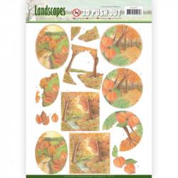 Carte 3D prédéc. - Jeanine's Art - Landscapes - Paysages d'automne