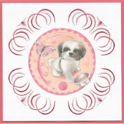 Stitch and do 100 - kit Carte 3D broderie - Petits animaux