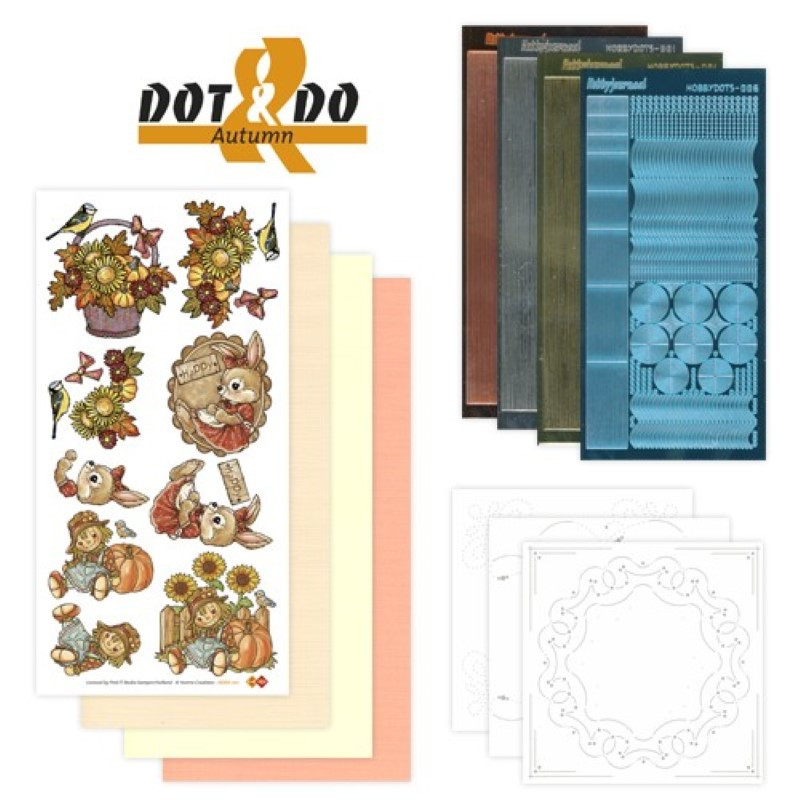 Dot and do 001 - kit Carte 3D - Automne