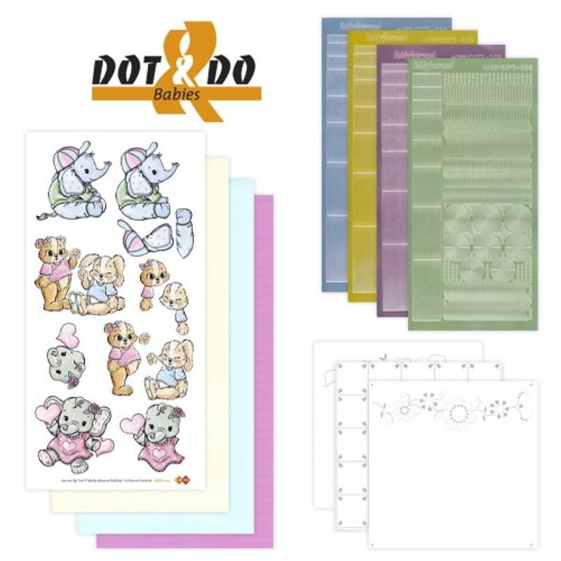 Dot and do 003 - kit Carte 3D - Bébés