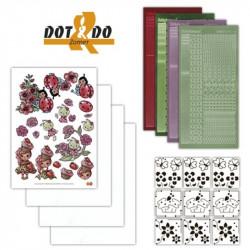 Dot and do 008 - kit Carte 3D - Vive l'été