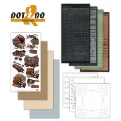 Dot and do 009 - kit Carte 3D - Vintage