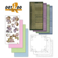 Dot and do 010 - kit Carte 3D - Printemps